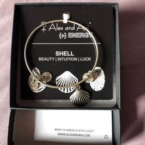 NEW Alex and Ani Shell Bracelet